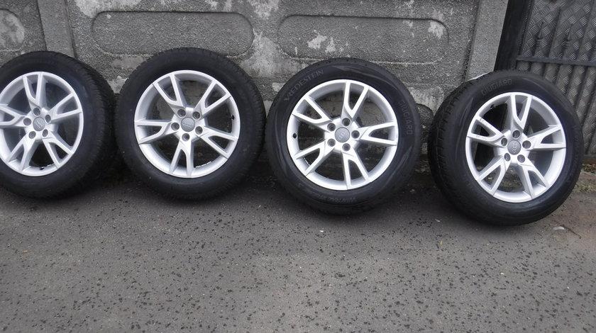 Jante Audi Q3 Iarna 215 60 17 Dunlop si Vredestein dot (2215)