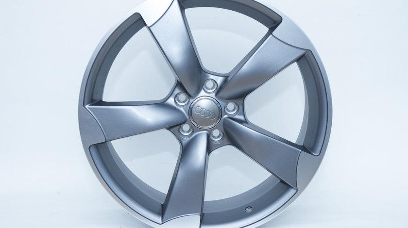 Jante Audi R19 model Rotor culoare gri mat A4 A5 A6 A7 A8 Q3 Q5