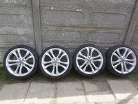Jante Audi S6 S7 S8 Vara  255 35 20 Pirelli  CU SENZORI DE PRESIUNE