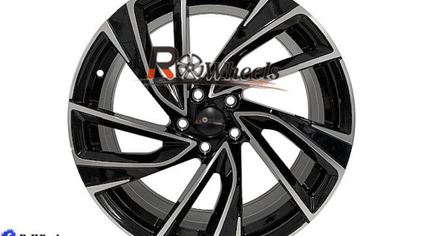 Jante AUDI SEAT SKODA VW 18 R18 Black & Polish 5X112