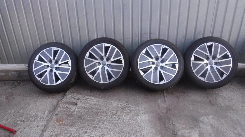 Jante Audi TTS A3 A4 TT vara 225 45 17 Dunlop Sport Maxx Rt