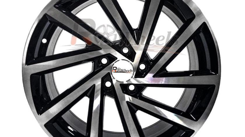 Jante Audi VW 17 R17 Black Polish 5x100