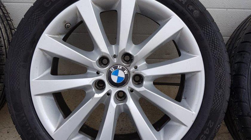 Jante BMW 18 inch originale + anvelope 245/45/18 + senzori presiune