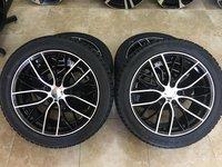Jante BMW 18 R18 anvelope iarna 245-45-18 BMW F10 F11 F12 F13 seria5-6