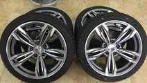 Jante BMW 18 R18 cu anvelope iarna 245-40-18 BMW E...