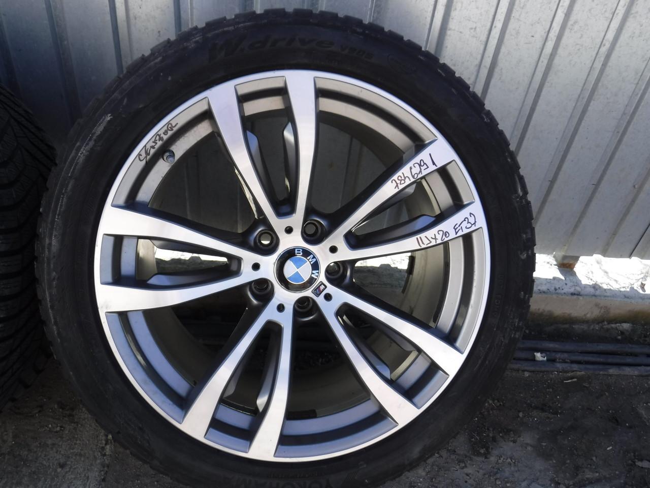 Jante BMW 20 X5 X6 F15 ,F16 style 469 M 315 35 R20 / 275 40 R20 Yokohama  iarnă