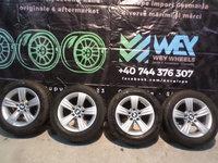 Jante Bmw F30 , F31 pe 16 '' cu anvelope de iarna 225 55 16 Bridgestone