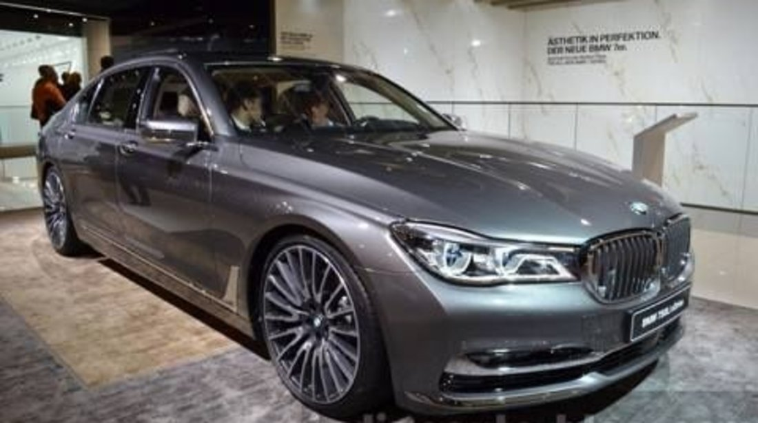 Jante BMW G11 G12 seria 7 model 2016 -2017 cu anvelope vara noi