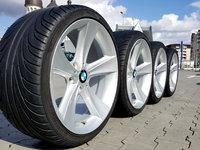 Jante BMW pe 19 style 128 cu anvelope de vara profil 7 mm jante originale BMW in 2 latimi de 8 J fat