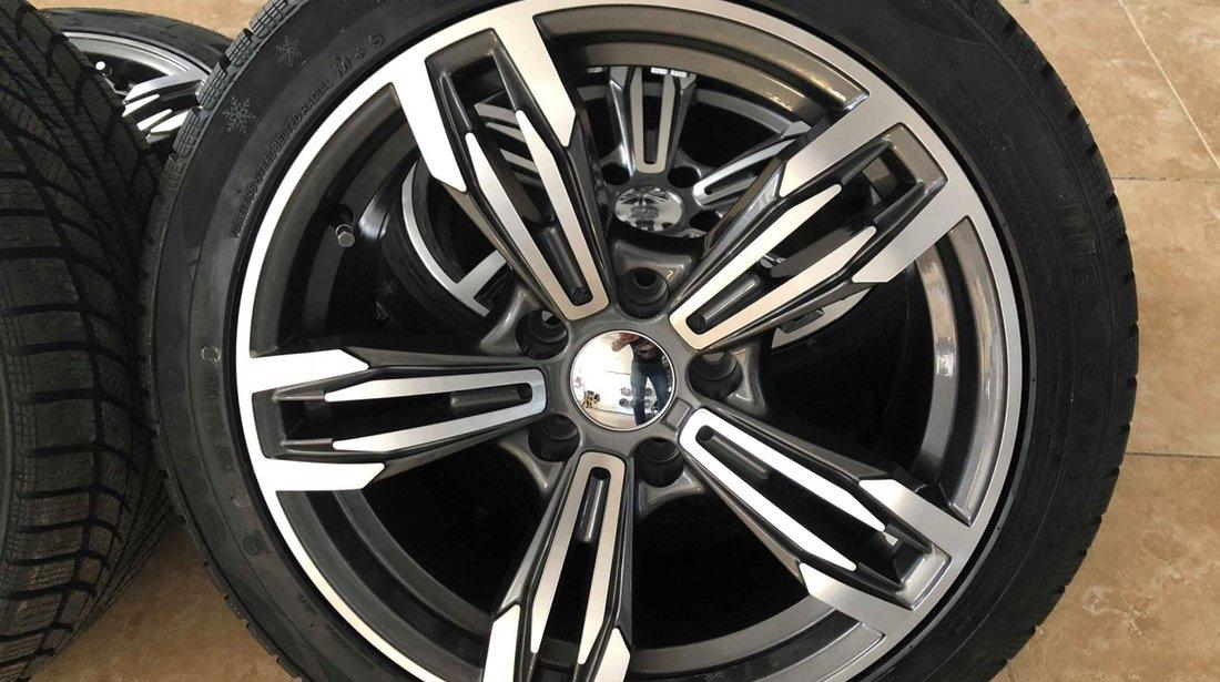 Jante BMW R17 Anvelope iarna noi 225-45-17 BMW E90 E91 E92 seria1-2