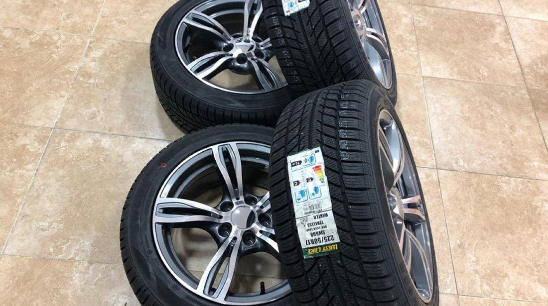 Jante Bmw R17 noi cu anvelope iarna noi seria 3 F30 F32 seria 4 bmw seria 5 e60 bmw x1