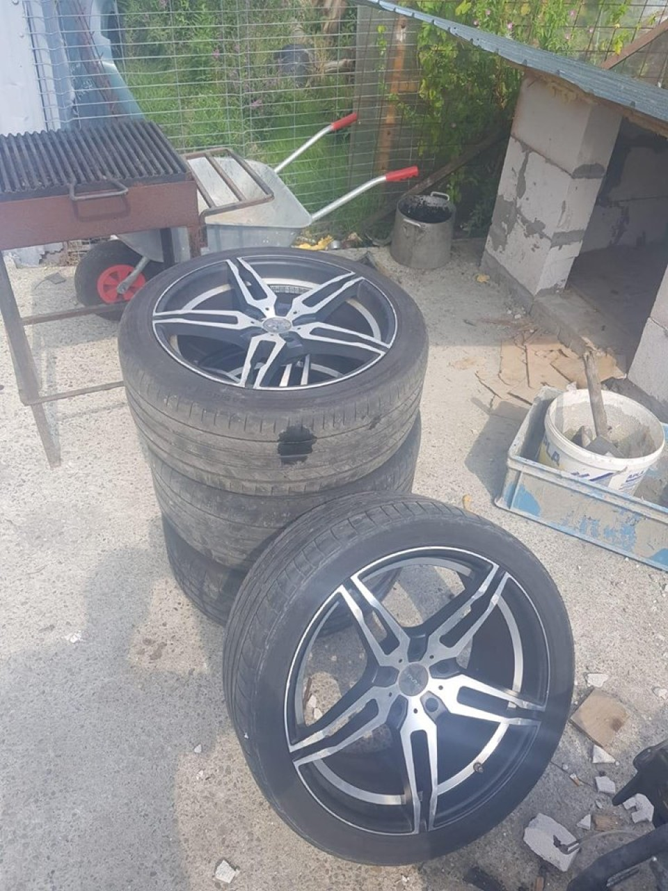 Jante BMW r19 5x120 cu anvelope vara 245/40/19