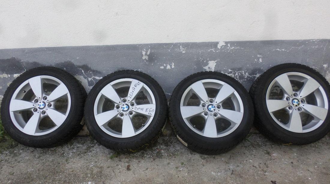 Jante BMW Seria 5 E60 E61 XD  Iarna 225 50 17 Dunlop