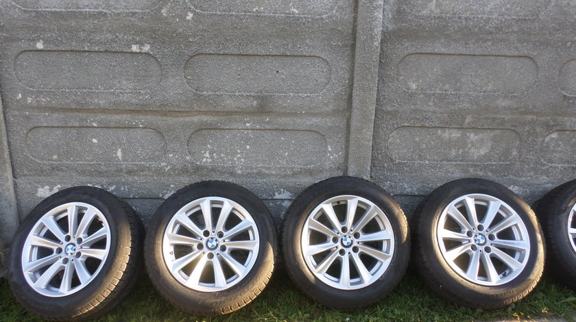 Jante BMW Seria 5 F10 F11 Iarna 225 55 17 Pirelli