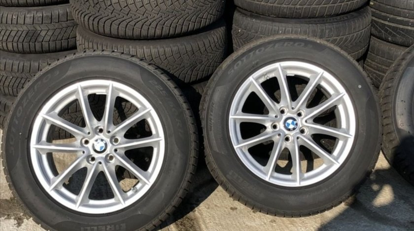 Jante Bmw seria 7, 6 , 5 cu anvelope Pirelli iarna 8 mm