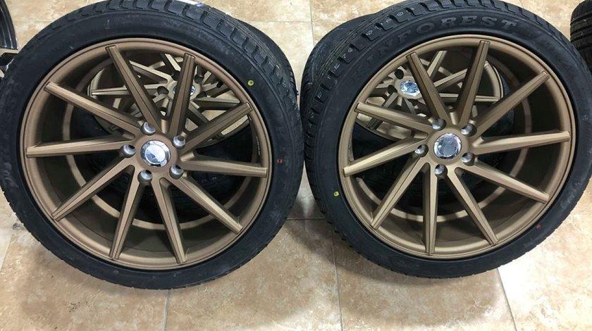 Jante BMW Vossen 19 R19 GOLD anvelope vara 245-275 BMW F10 F30 F01 E60