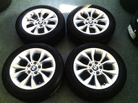 Jante BMW X1 R 17 5x120 JANTE NOI , oem , 225 50 17 Michelin Vara