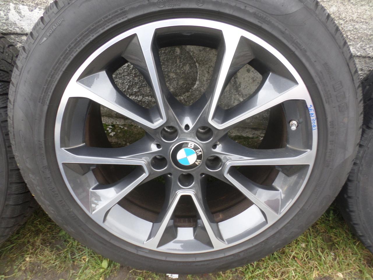 Jante BMW X5 F15 BMW Seria X6 F16 Iarna 255 50 19 Pirelli Senzori de Presiune