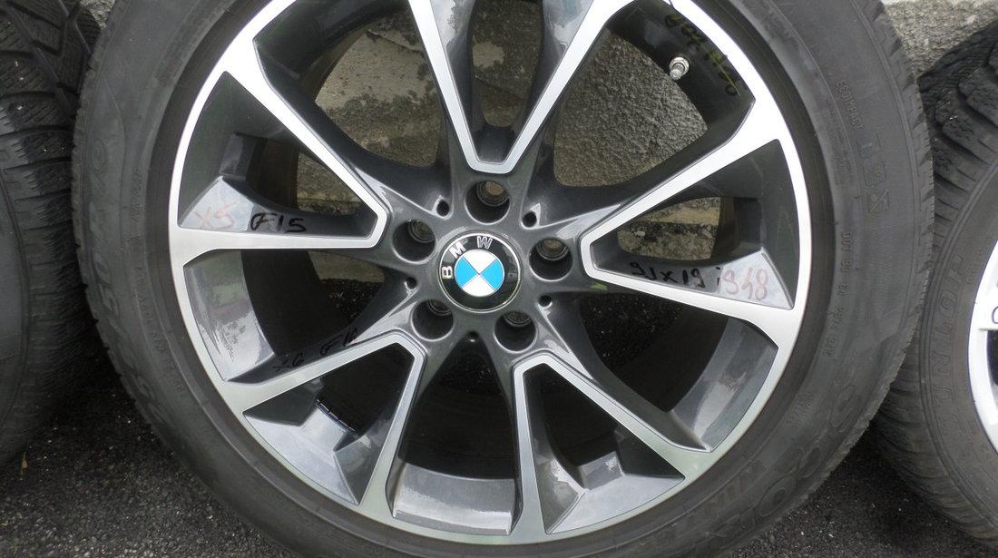 Jante BMW X5 F15, X6 F16 Iarna 255 50 19 Pirelli Senzori de Presiune