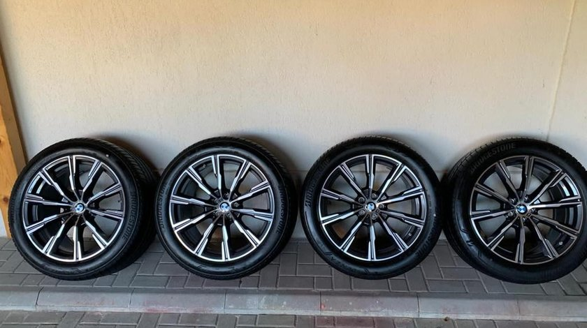 Jante BMW X5 G05 X6 G06 jante vara M 20   Anvelope Bridgestone Vara Runflat 6 mm \ DOT 2019