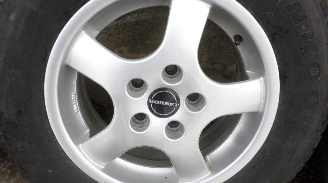 Jante Borbet Kia Renault Mazda Honda 205 70 15 Hankook Iarna