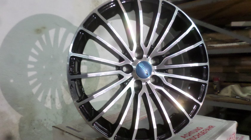 Jante Brock  B24 Noi Audi Skoda VW Seat, Mercedes  18 zoll Bicolor