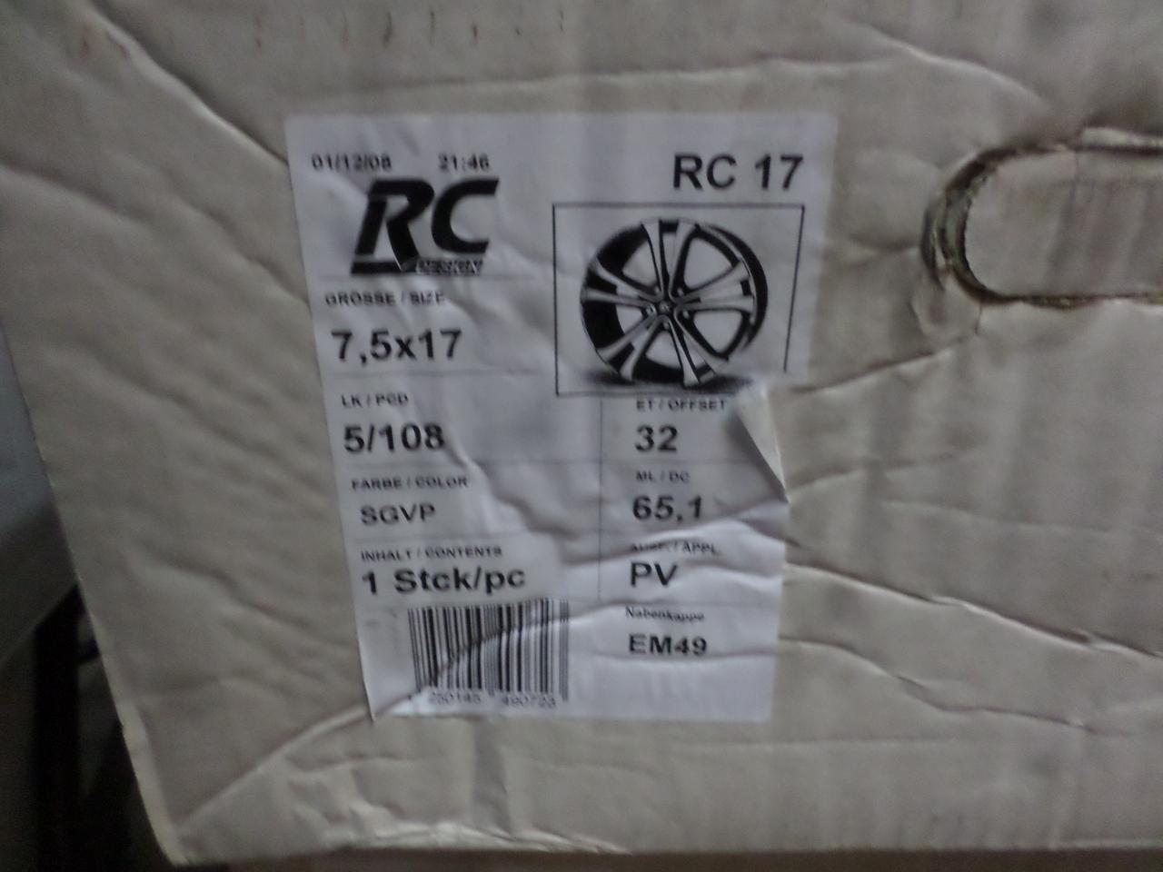 Jante Brock noi pentru gama Citroen  c5