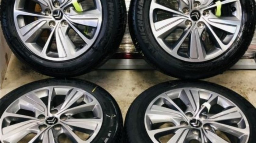"Jante Citroën C4 Picasso , Grand Picasso , originale , 17"", anvelope vara Michelin"