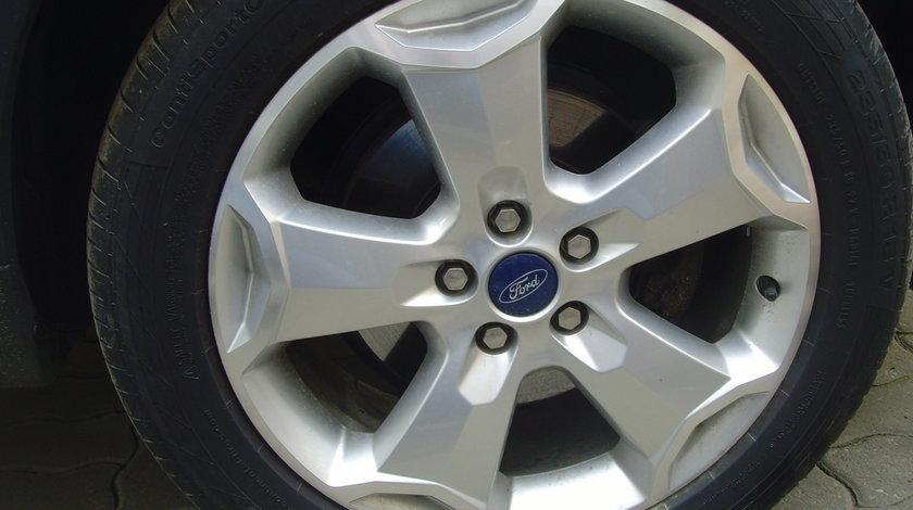 Jante de aliaj ca Noi 5x108 pe 18 originale Ford Kuga/anvelope AllSeason 235/50 R18 Nokian