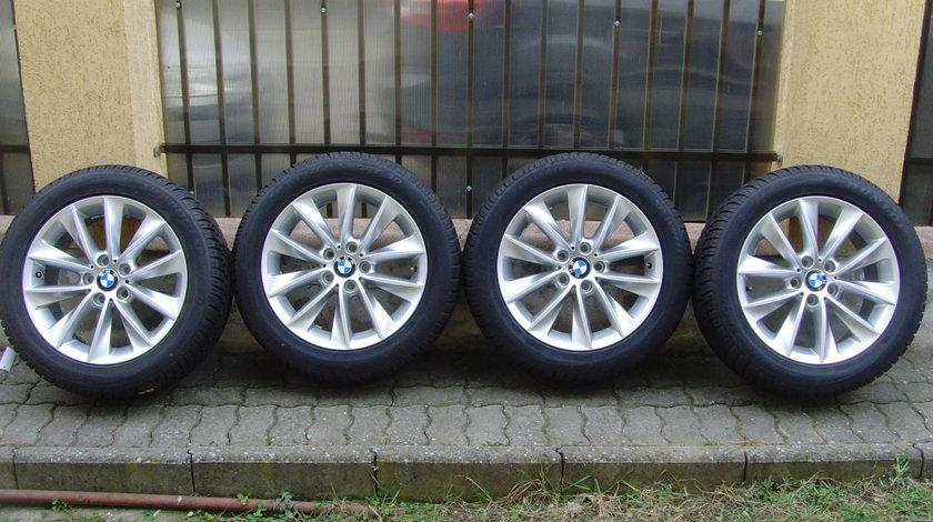 Jante de aliaj ca Noi 5x120 pe 18 orig. BMW X3 F25, X4 F26 / anvelope 245/50 R18 100H Dunlop * RFT