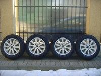 Jante de aliaj ca si Noi PLW 5x112 pe 16 Mercedes Audi VW Skoda Seat,cauc.iarna 205/60R16 Dunlop 3D