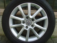 Jante de aliaj Enea 5x112 pe 16 originale Seat Altea,Toledo,Leon,(VW Golf 5;6;7,Jetta,Touran,Octavia