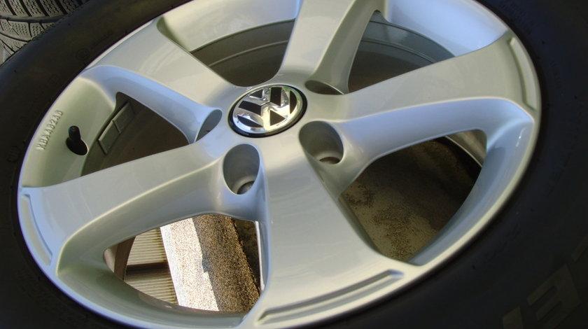 Jante de aliaj Sima ca Noi 5x112 pe 16 originale VW (Tiguan,Sharan 2),etc./latime 6,5J cu ET33
