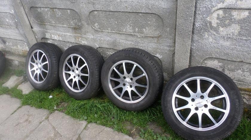 Jante Dezent Opel  logan 15 cu anvelope 195 6015 vara
