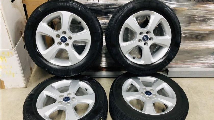 "Jante Ford Kuga 17"", originale, cu anvelope iarna Continental"