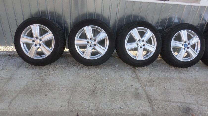 Jante Ford kuga marca Dezent  235 55 17 iarna Continental si SENZORI
