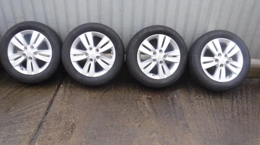 Jante Hyundai IX20 , I30 , Elantra  zoll 205 55 16  16 vara Bridgestone + Senzori