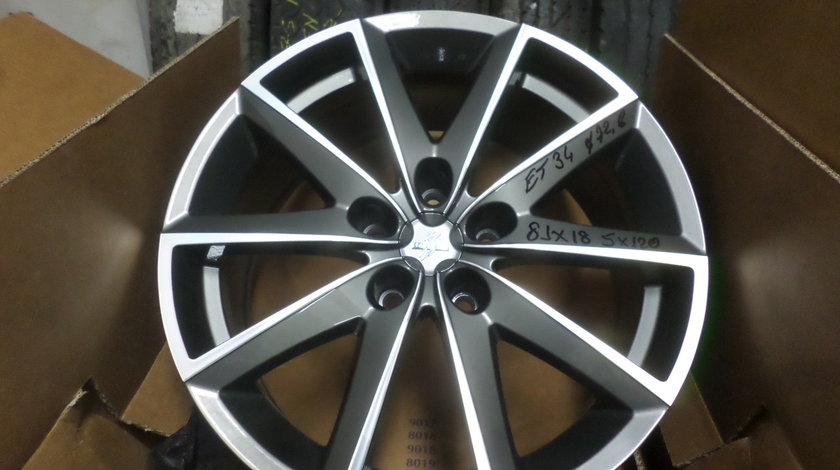 Jante marca FONDMETAL S7600 pentru gama BMW  F10 , F11  pe 18 zoll NOII