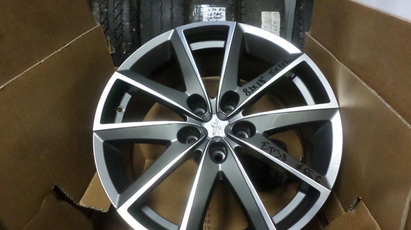 Jante marca FONDMETAL S7600  pentru gama  VW AUDI MERCEDES SEAT SKODA  pe 18 zoll NOII