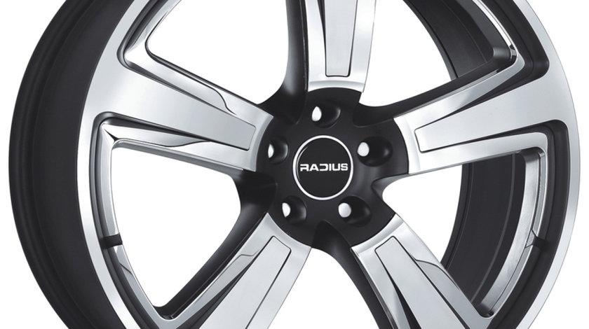 Jante marca RADIUS R15 tricolor  pentru gama VW AUDI MERCEDES SEAT SKODA pe 18 zoll NOII