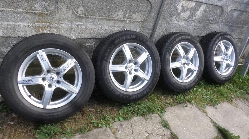 Jante marca RC Design pentru  VW Tiguan sau Audi Q3  215 65 16  Michelin Iarna