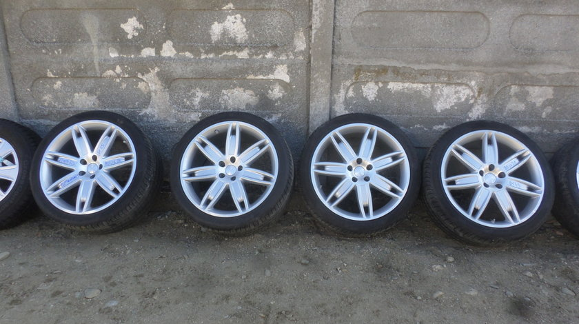 Jante Masserati Quattroporte  cu anvelope vara   285 35 20  si 245 40 20 Pirelli +Senzori