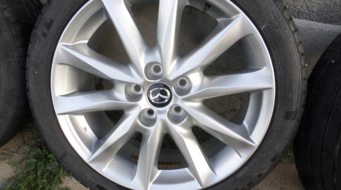 Jante Mazda 3 18 zoll cu anvelope de vara 215 45 18 Dunlop sp sport
