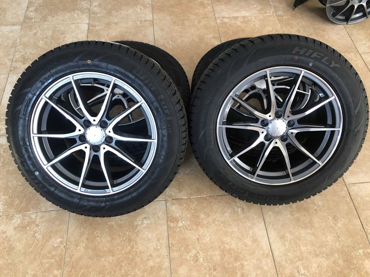 Jante Mercedes 18 R18 GLC anvelope iarna 235-60-18 dot 2019