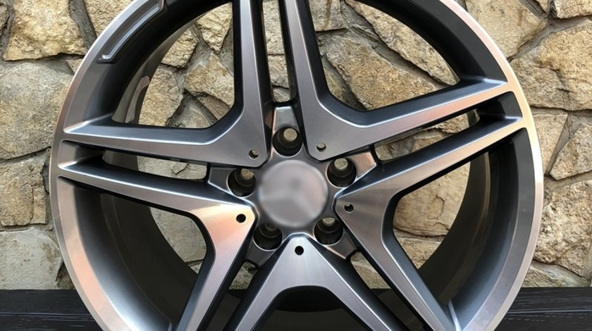 Jante Mercedes AMG noi, diametru R18 inchi 5x112