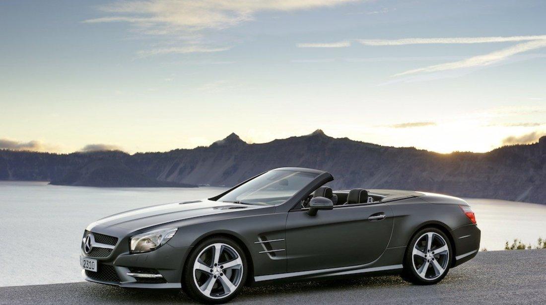 Jante Mercedes Benz SL-Klasse, Cls  255 40 18 iarna Pirelli Sottozero si SENZORI DE PRESIUNE