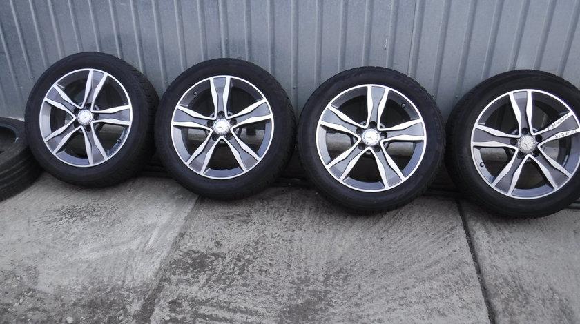 Jante Mercedes C-Klasse W205  225 50 17 iarna Bridgestone + Senzori