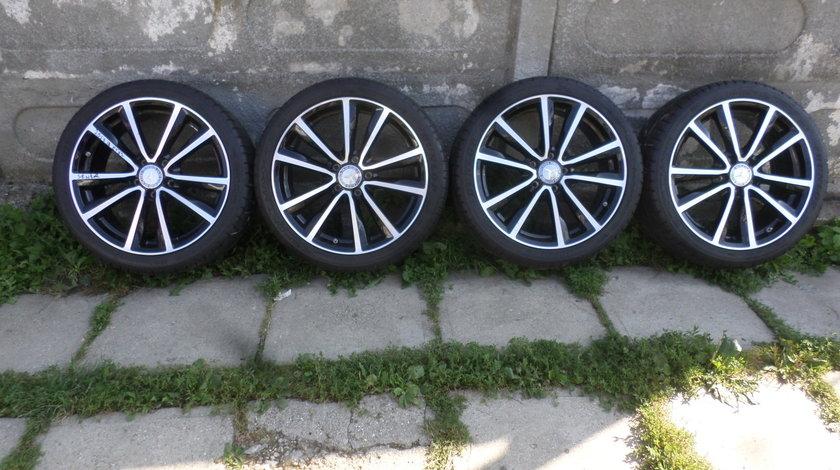 Jante Mercedes CLA  225 40 18  Vara Dunlop Sp Sport Maxx RT cu SENZORI PRESIUNE