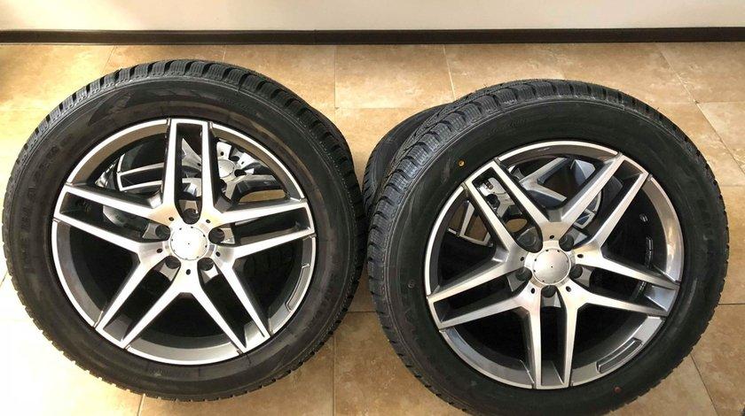 Jante Mercedes cu anvelope iarna 255-50-19 GLC GLE ML GL R-M class ML