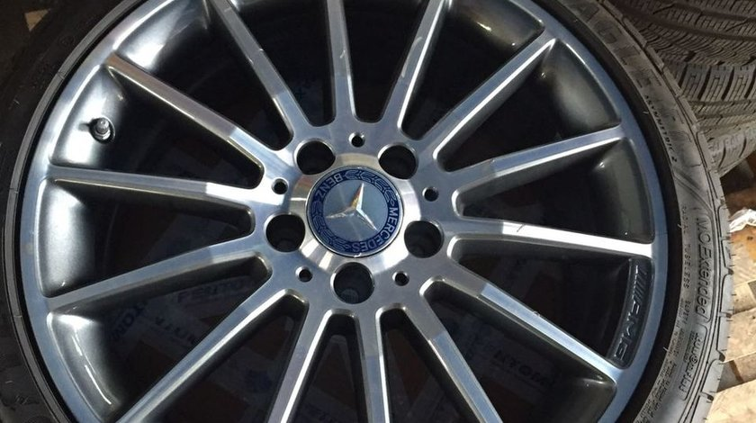 Jante Mercedes cu cauciucuri 225/40/R18 Originale!